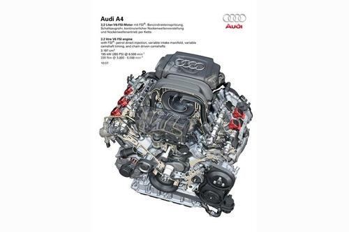 In seguito l'Audi ha prodotto nuovi V6 con distribuzione bialbero comandata mediante catene, fasatura variabile e iniezione diretta di benzina. L'angolo è sempre di 90°