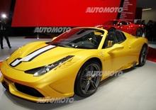 Ferrari al Salone di Parigi 2014
