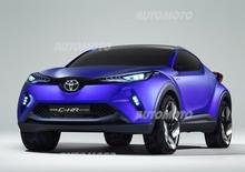 Toyota C-HR Concept: prime immagini e dettagli