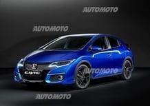 Honda Civic restyling: nuovi fari led e tecnologia Android