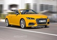 Audi TT e TT S Roadster: le prime immagini ufficiali
