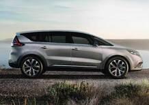 Nuova Renault Espace: le prime immagini della versione di serie