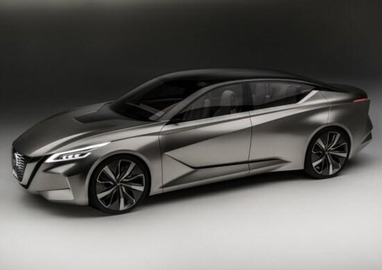 Nissan Vmotion 2.0: a Detroit arriva la berlina del futuro
