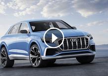 Audi Q8 Concept, sempre più SUV [Video]
