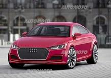 Audi TT Sportback concept: svelata definitivamente a Parigi