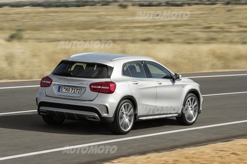 mercedes-benz gla 45 amg - prove - automoto.it