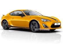 Toyota GT86 Limited Edition: tutta gialla per 50 appassionati