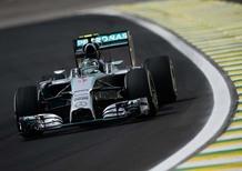 Formula 1 Brasile 2014: Rosberg in testa alle libere del venerdì