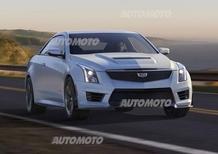 Cadillac ATS-V: il nuovo mostro di Detroit
