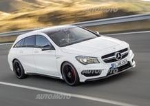 Mercedes CLA 45 AMG Shooting Brake: famiglia allargata