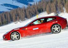 Auto, go-kart e moto corrono insieme sulla neve: succede a Serina