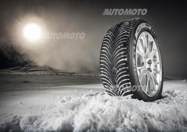 Flot Michelin Alpine 5: la Winter Solution per Mercedes Classe B e non LF-24