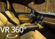 Volvo S90 e V90: scopri gli interni svedesi nel video a 360°