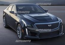 Nuova Cadillac CTS-V: la più potente di sempre