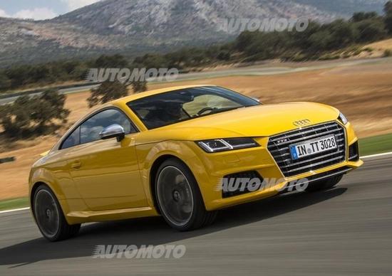 Nuove Audi TTS coupé e TT Roadster. Prezzi e dettagli per l'Italia