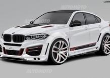 BMW X6 by Lumma Design: 33.000 euro per averla esagerata