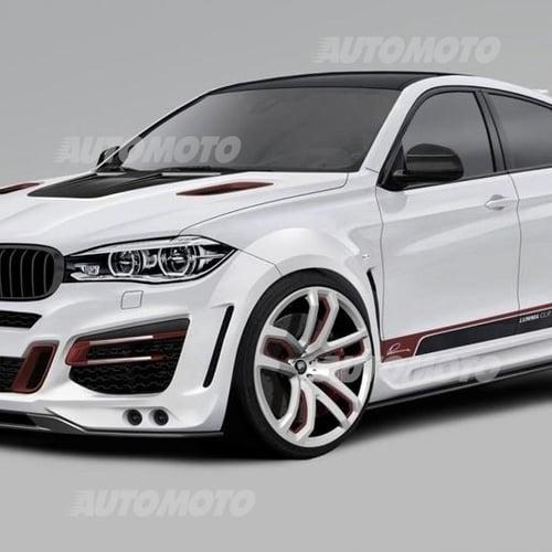 Bmw X6 Tuned: BMW X6 By Lumma Design: 33.000 Euro Per Averla Esagerata
