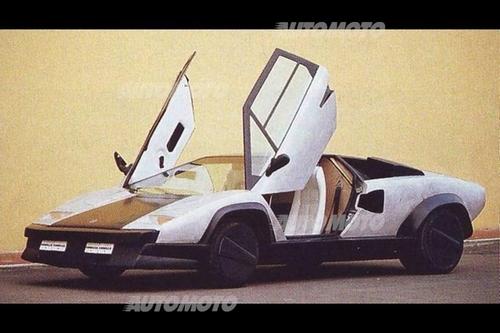 Lamborghini Countach Evoluzione La Superleggera Sfortunata Ideata
