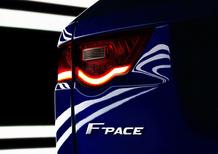 Jaguar F-Pace, la prima crossover del Giaguaro. Il teaser