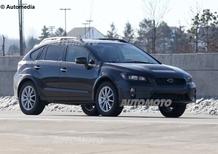 Subaru XV: il restyling è in fase di collaudo