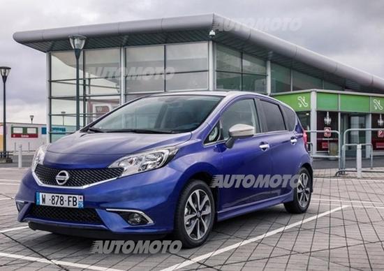 Nissan Note N-TEC limited edition: più tecnologica e sicura