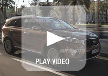 Nuova Kia Sorento: la nostra video-prova