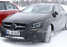 Mercedes Classe A: paparazzato il restyling