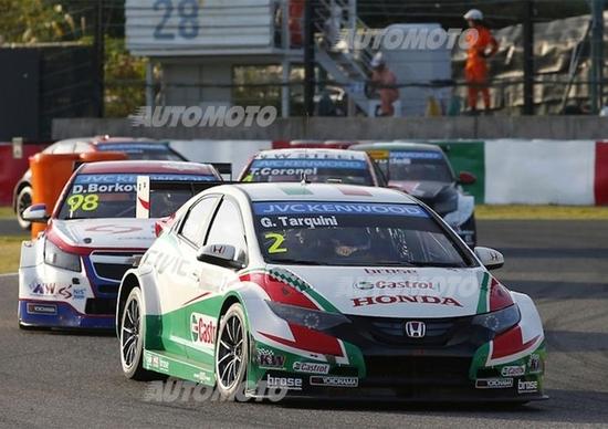 Gabriele Tarquini, Honda WTCC: «Io vecchio? Mi sento un bambino!»
