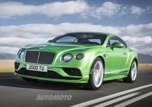 Bentley: a Ginevra il restyling della gamma Continental