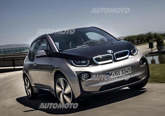 Apple iCar: e se fosse una BMW i3 con la Mela?