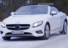 Mercedes Classe S Cabrio: nuove immagini dell'ammiraglia en plein air