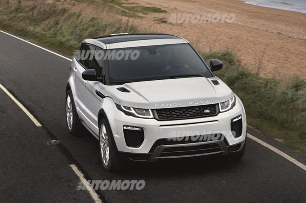 Range Rover Evoque Restyling Muso Piu Aggressivo E Nuovi Motori