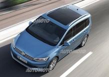 Nuova Volkswagen Touran: la sette posti cresce di 13 cm