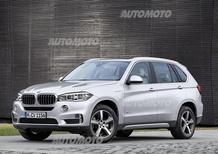 BMW X5 xDrive40e: ibrido plug-in da 313 CV