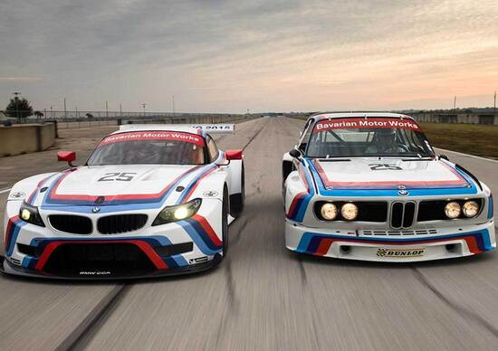 BMW Z4 GTLM: una livrea ispirata alla 3.0 CSL per la 12 Ore di Sebring