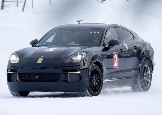 Porsche Mission E: continuano i test per la prima elettrica