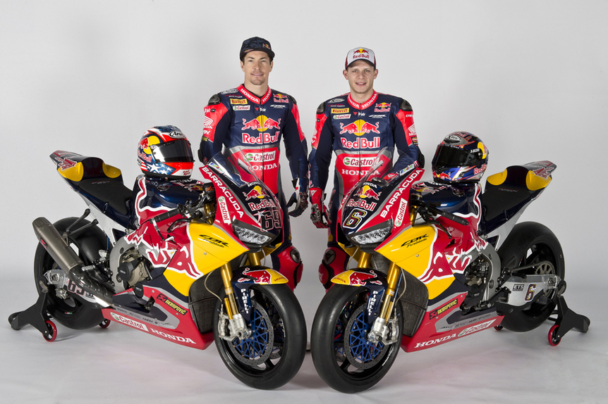 Presentato il team Red Bull Honda World Superbike