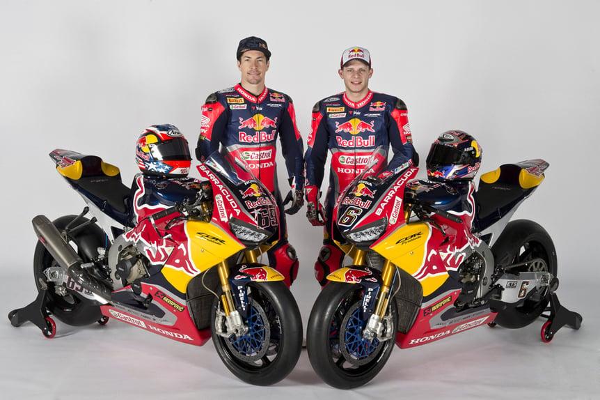 Presentato il team Red Bull Honda World Superbike