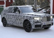Rolls-Royce Cullinan: proseguono i test per il mega-SUV inglese