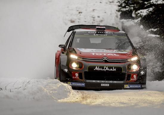 WRC 2017/Citroen. La riscossa (annunciata) di Meeke e della C3 WRC al Rally di Svezia