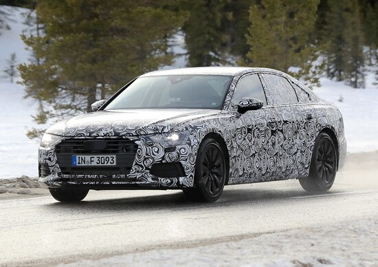 Nuova Audi A6 2018: foto dei prototipi in test