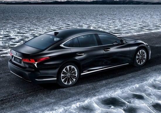 Lexus LS 500h Full Hybrid, debutterà a Ginevra
