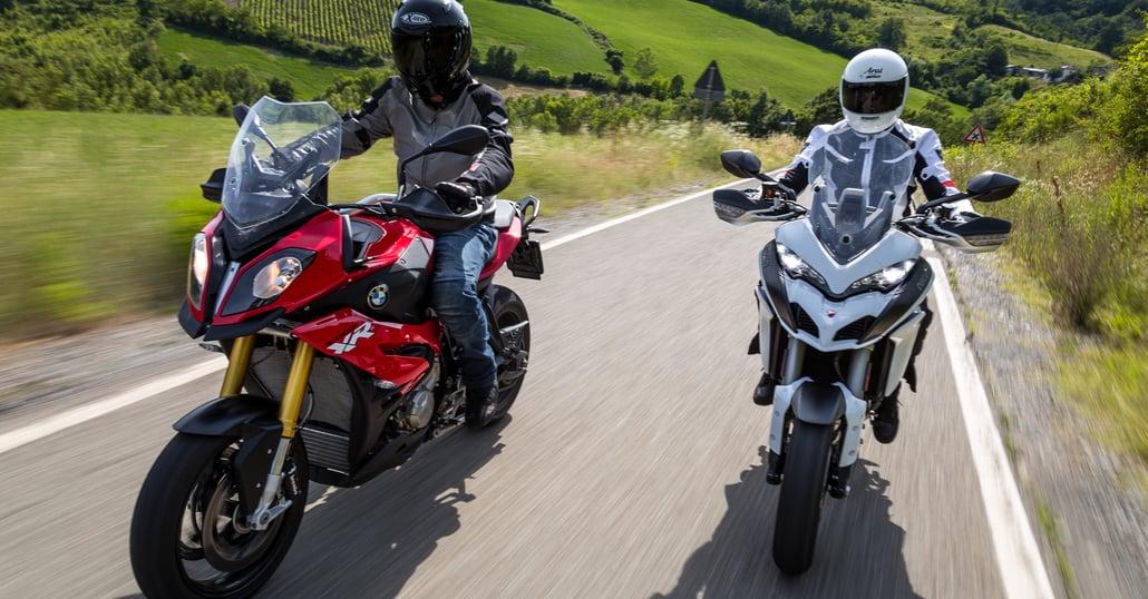 Ducati Multistrada Vs Africa Twin