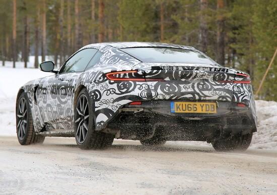 New Aston Martin DB11 S: spy shots