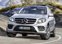 Mercedes GLE: con il restyling la ML cambia nome e diventa anche plug-in