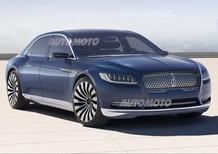 Lincoln Continental concept: l'auto di lusso americana ritorna alle origini