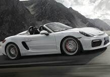 Nuova Porsche Boxster Spyder: il ritorno di un mito. Ma solo per i puristi