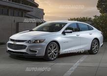 Nuova Chevrolet Malibu: sotto al vestito nasconde la futura Opel Insignia