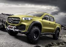 Mercedes Classe X Concept, il nuovo pick up di Stoccarda