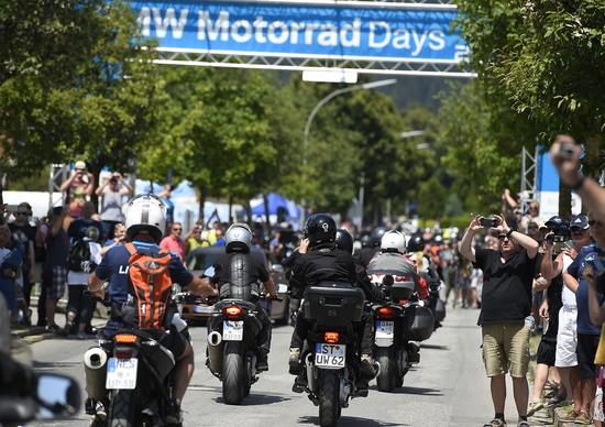 BMW Motorrad Days 2015 a Garmisch
